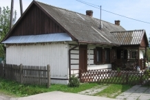 The complex of wooden buildings in Mokrzyska